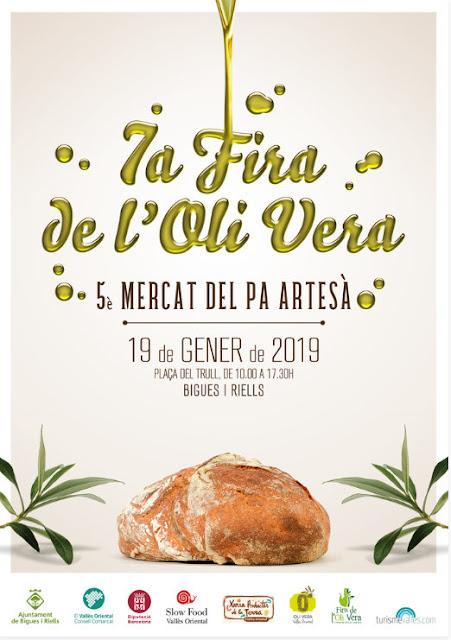 VII Fira de l'Oli Vera i altres varietats tradicionals i V Mercat del Pa Artesà de Bigues i Riells