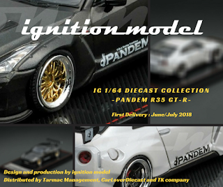 ignition model 1/64 tarmac works