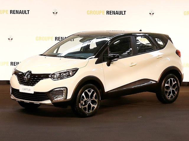 Novo Renault Captur - Brasil