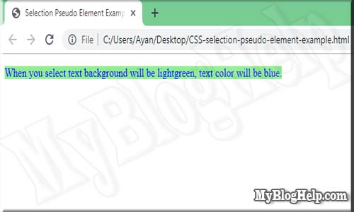 CSS-selection-pseudo-element-example