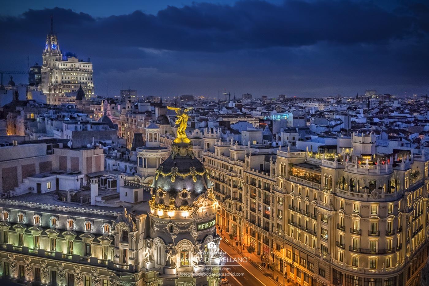 Fotografías De Ciudades Y Paisajes: Fotos De Madrid Para