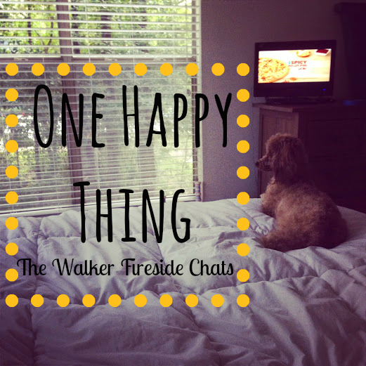 One Happy Thing #5...Let's Combat Sadness!