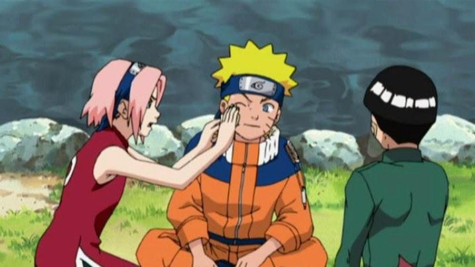 Sakura, Naruto y Rock Lee