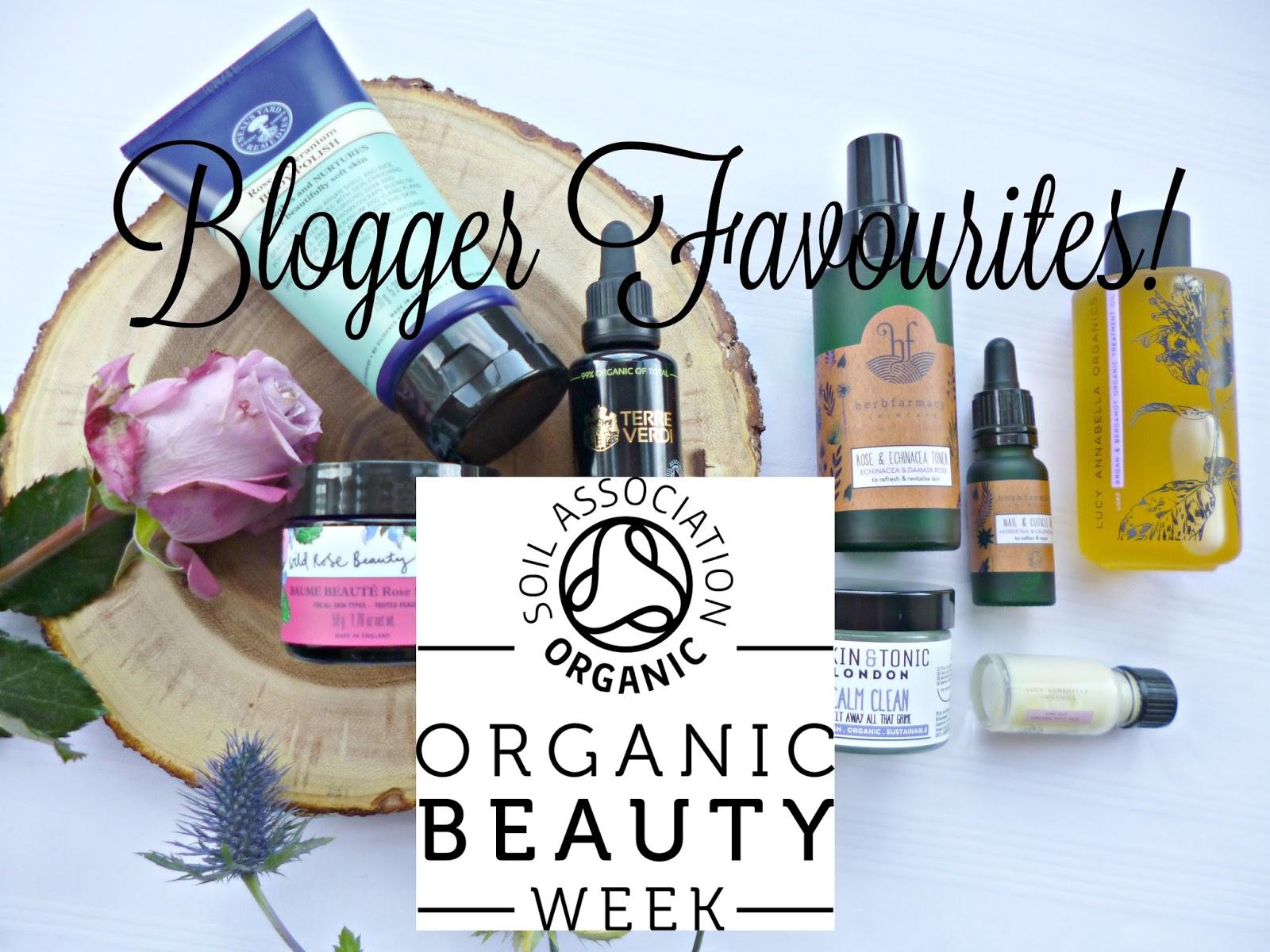 Organic Beauty week: Blogger favourites