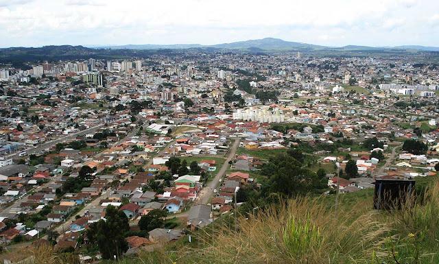Lages, vista do Morro da Cruz