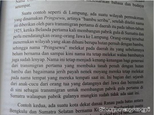 Mengenal Sejarah Berdirinya Kota Pringsewu Lampung oleh SUPRAYOGI