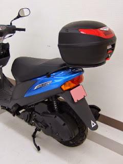 アドレスV125G+Givi E260