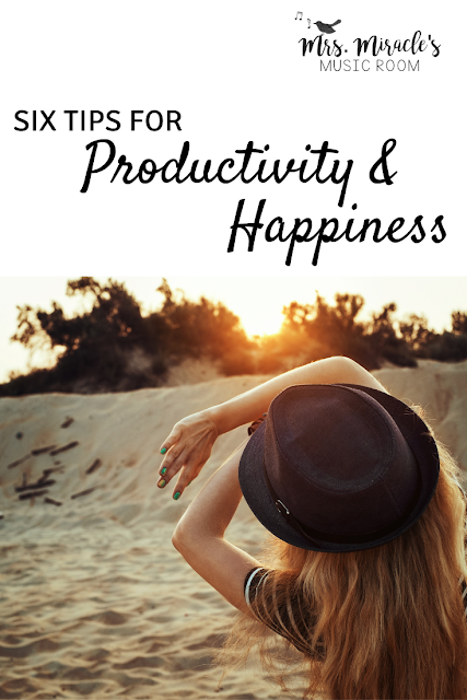 Six tips for productivity and happiness: Strategies for being more productive and calmer, from Airtable, to meditation, to batching!