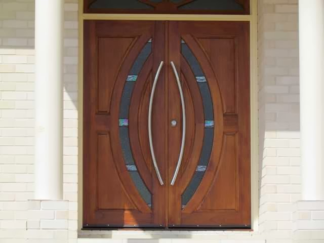 Wooden Exterior Door Design
