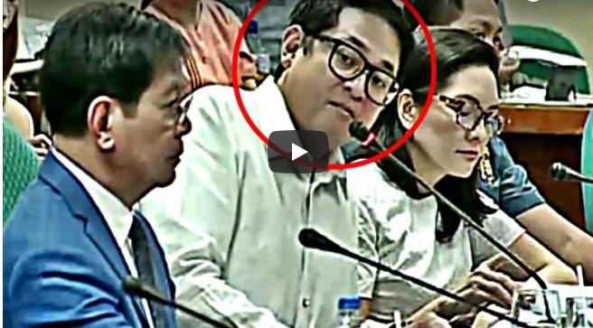 WATCH: Bam Nahuling Parang May Sinesenyas Sa Dalawang Paring Dinala Sa Senado