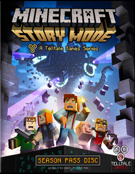 Minercraft Story Mode Episode 5 ( 1 DVD )