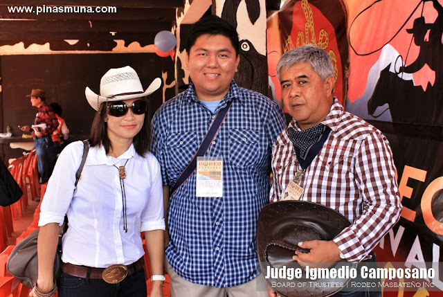 Judge Igmedio Camposano, member of the Board of Trustees of Rodeo Masbateno Inc