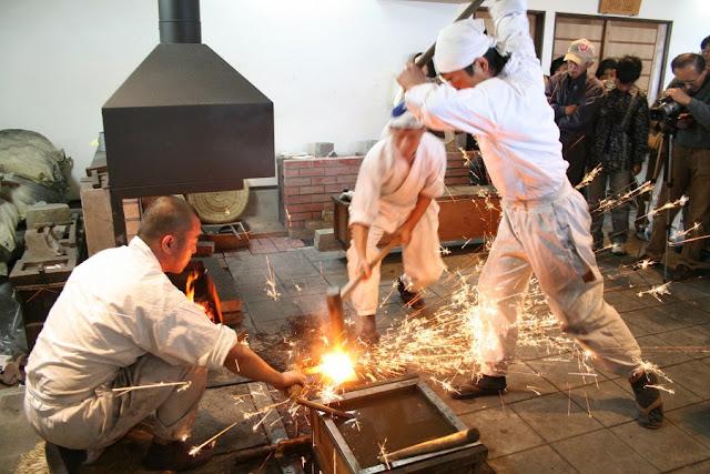 tour pembuatan samurai di Jepang