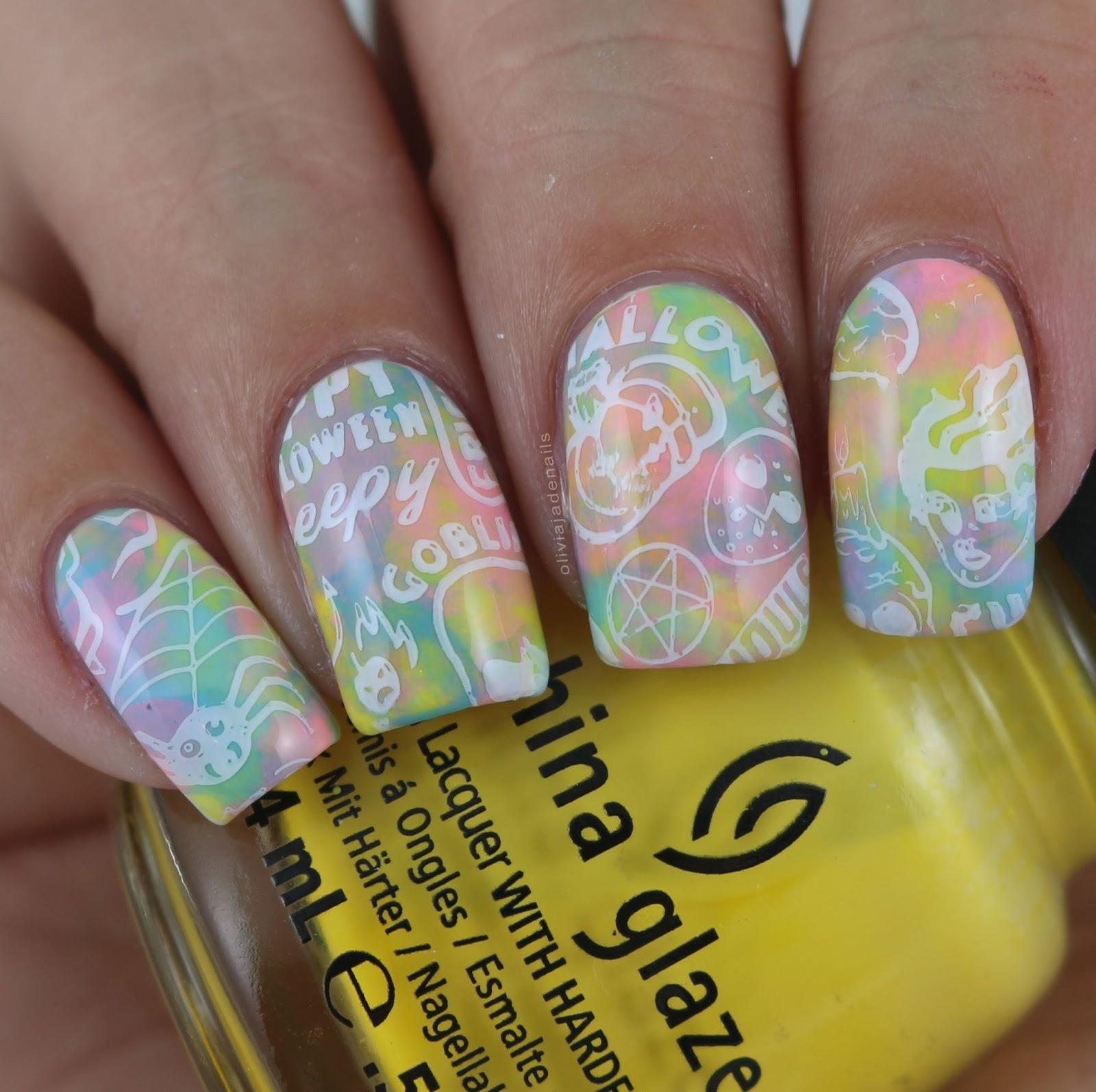 Olivia jade nails crumpets nail tarts 26 great nail art ideas halloween prinsesfo Images