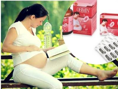 Bà bầu có thể yên tâm sử dụng Obimin để bổ sung dưỡng chất