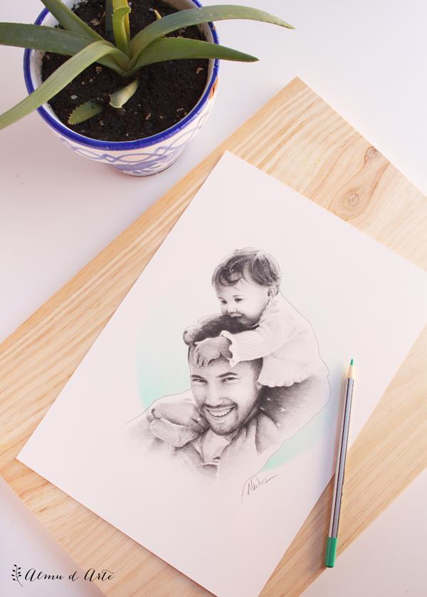 Ilustración Día del Padre