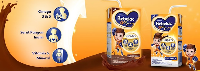 BEBELAC GO! Susu UHT Bernutrisi Dari Bebelac, Melengkapi Kebutuhan Nutrisi Si Kecil