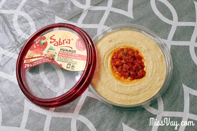 Sabra produits hummus houmous salsa végé recettes