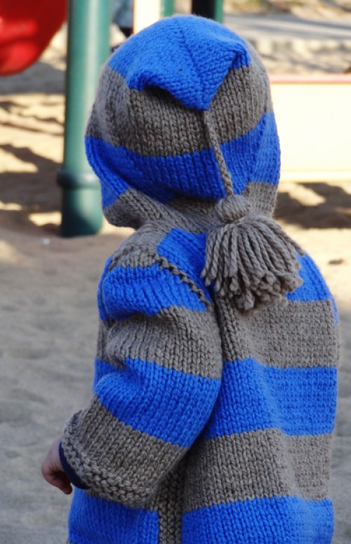 Idaho Hooded Sweater - Free Pattern