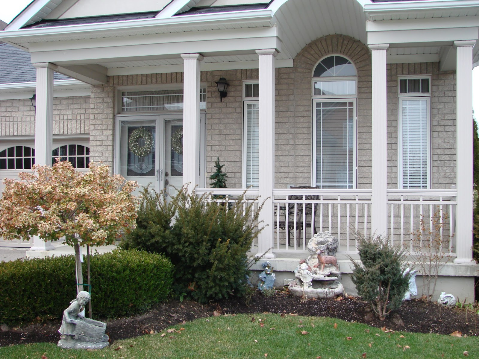 Install Porch Columns In Mississauga Replace Railings In
