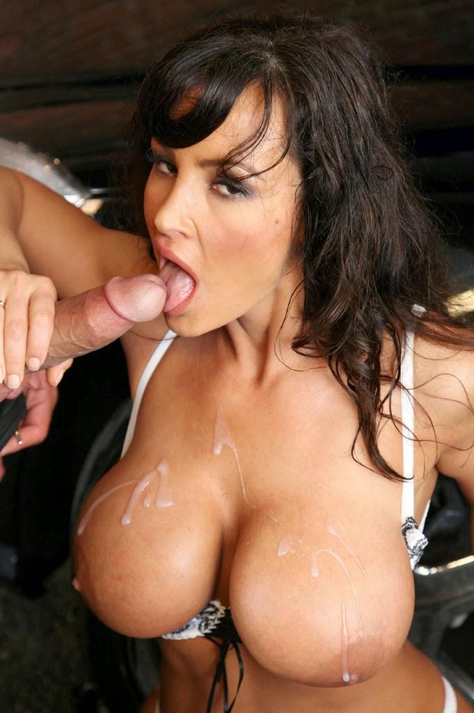 Hot big tit redhead pornstar getting fucked