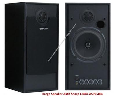 Harga Speaker Aktif Sharp CBOX-ASP250BL