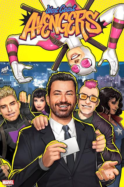 Jimmy Kimmel west coast avengers