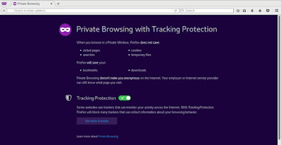 Private Browsing di Mozilla Firefox