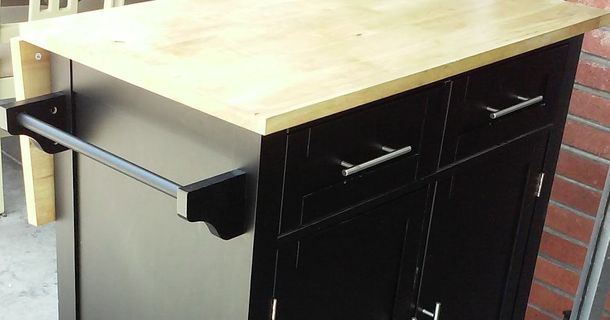 Uhuru Furniture Collectibles Sold Kitchen Island On Wheels With Drop Leaf Counter 150