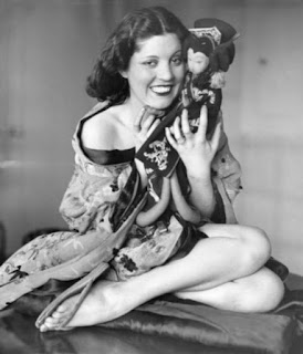 Olive Borden With Her Doll