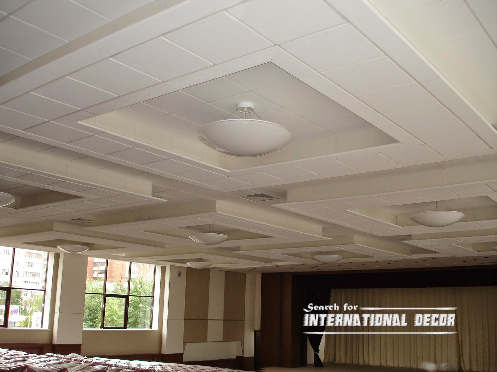 Acoustic Ceiling Tiles Panels Designs