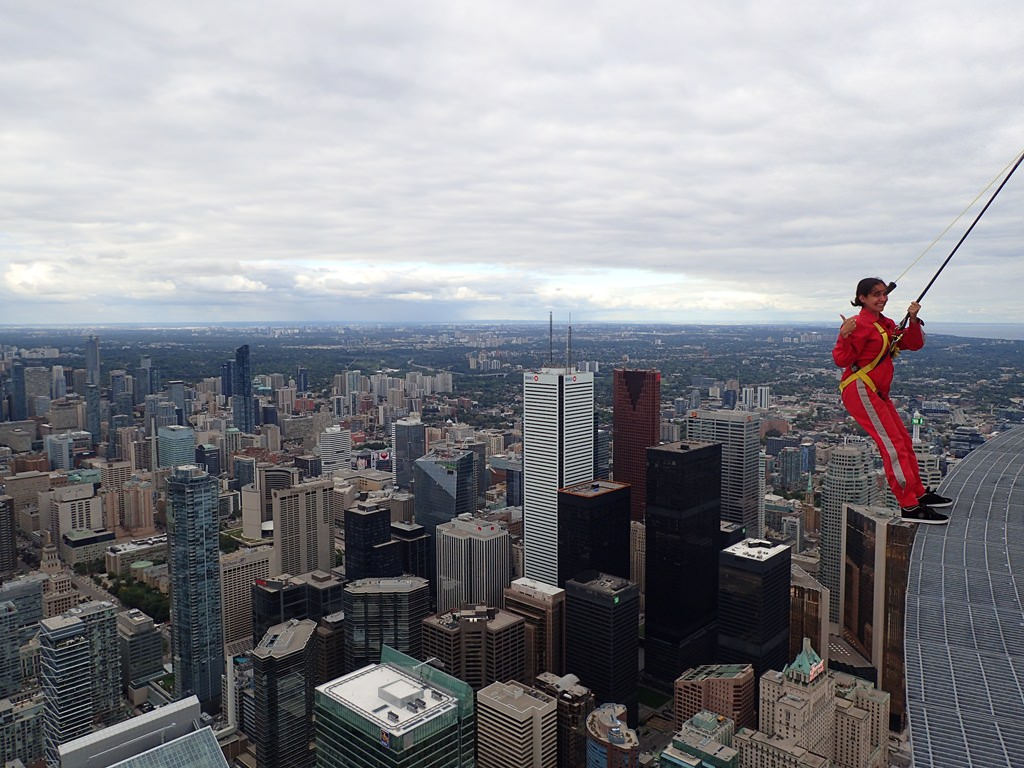 Edge Walk na CN Tower Toronto