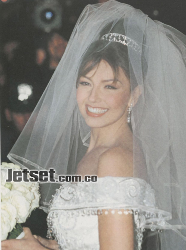 Red Carpet Wedding Thalia And Tommy Mottola