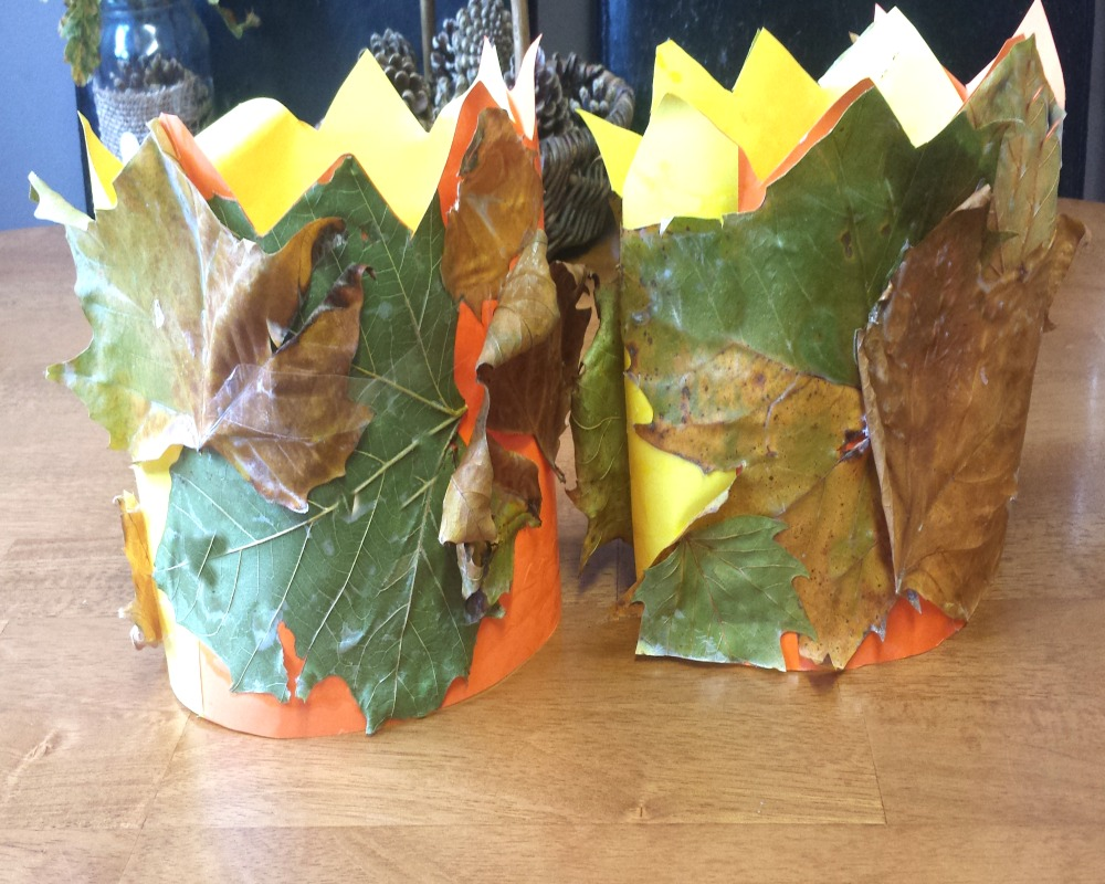4 Autumn Leaf Activities For Little Ones - Leaf Crowns