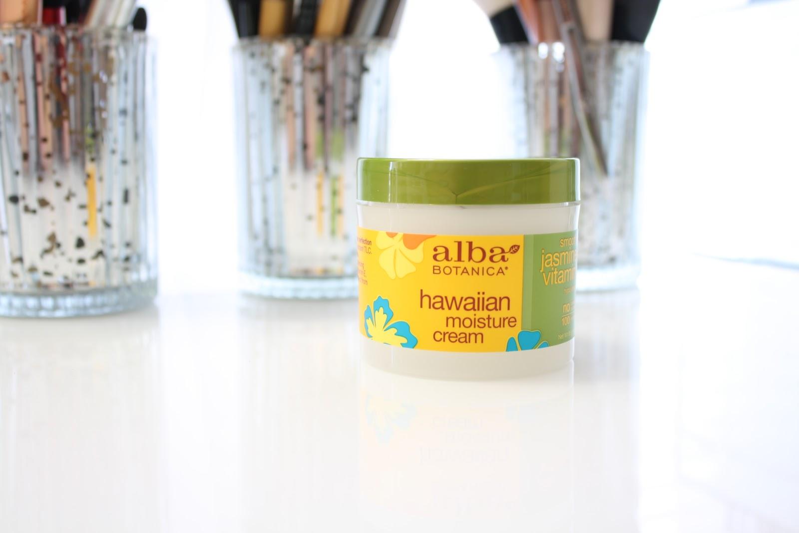 Alba Botanica Hawaiian Jasmine & Vitamin E Moisture Cream Review