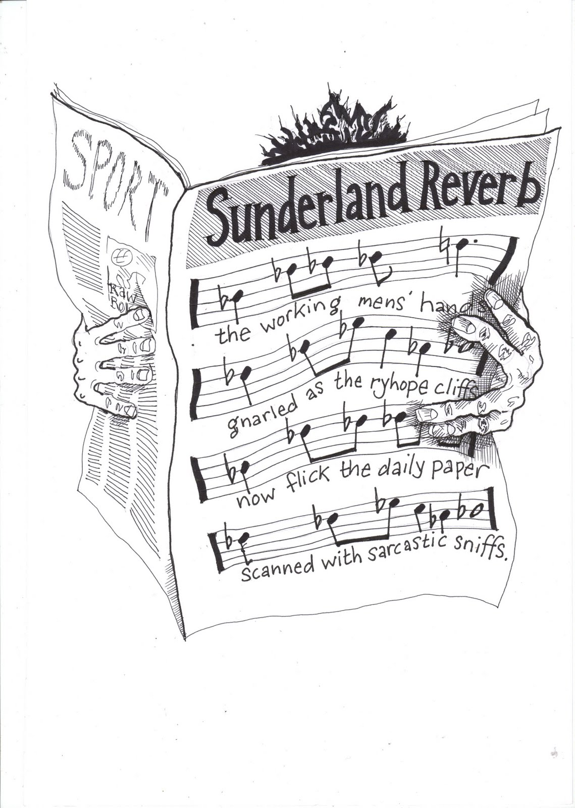helen mccookerybook july 2011 Holy Grail sing a song of sunderland