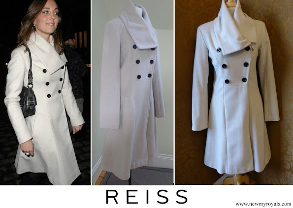 Kate Middleton wore Reiss Olivia Double Breasted Coat