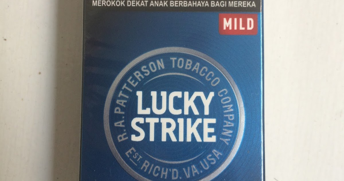 Lucky Strike Mild isi 12 Batang, Alternatif Baru bagi ...