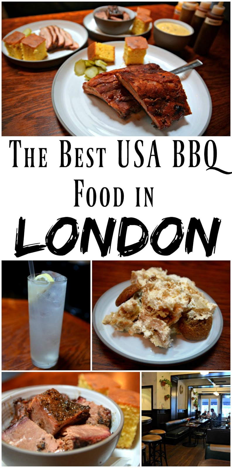 Pin for later: THE BEST BBQ FOOD IN LONDON! Shotgun BBQ is run by a Mississippi native, and he knows a thing or two about American BBQ food. This is hands down the best BBQ place in London, set in a super cute restaurant right in Soho, the brisket and pork belly are must-orders!