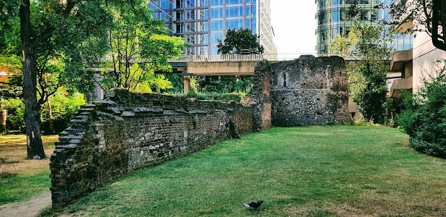 Part of the Roman Fort, London Wall