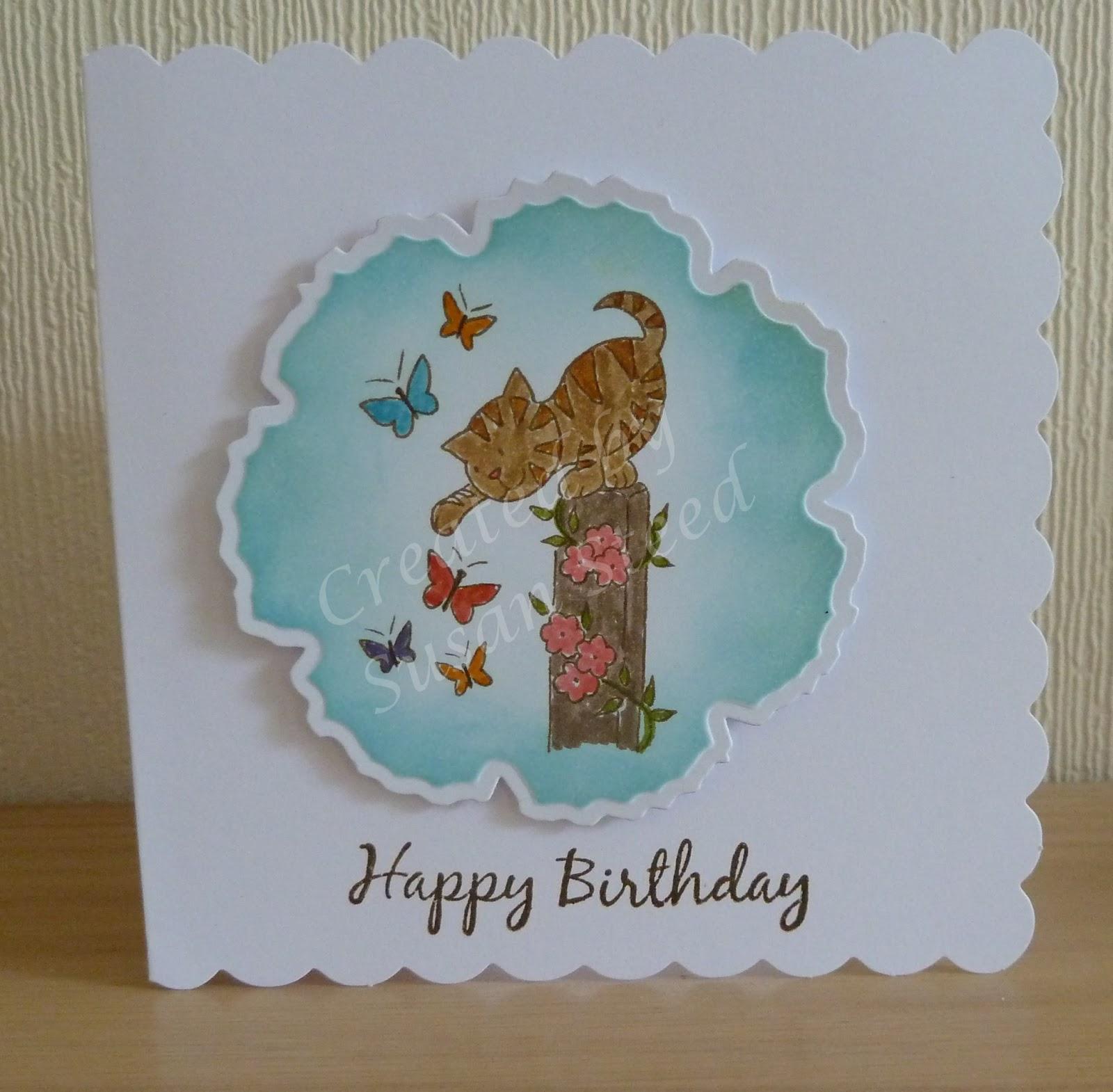 Zouave Cards: Happy Birthday Jen