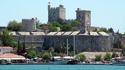 Lâu đài Bodrum cổ kính của Thổ Nhĩ Kỳ