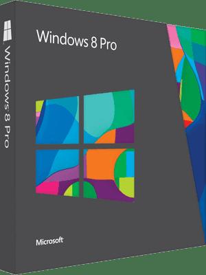 Windows 8 Pro Box Imagen