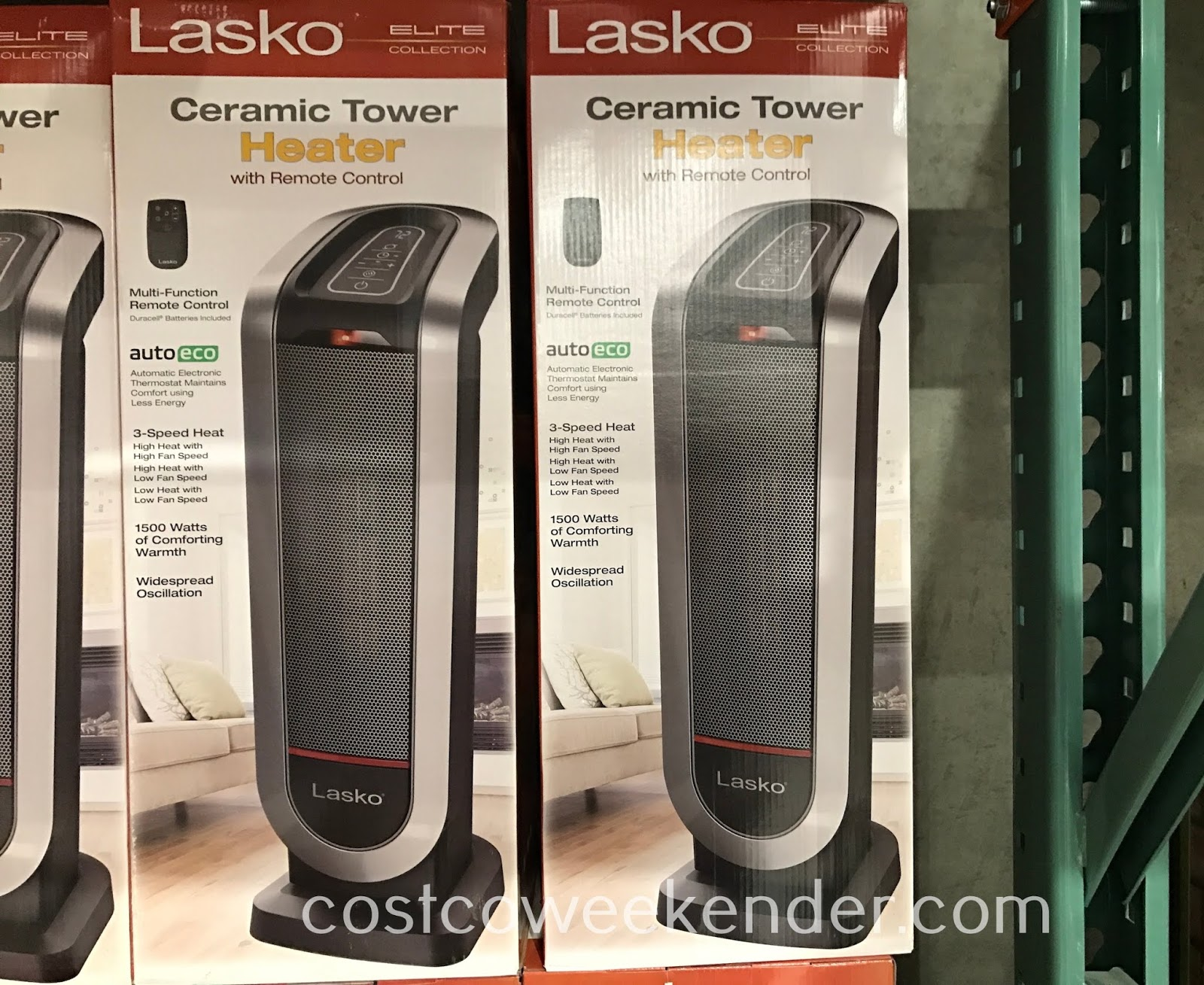 Winter is coming, so get the warmth you need with the Lasko Ceramic Tower Heater