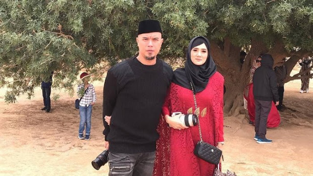 Ahmad Dhani Divonis 1,5 Tahun Penjara, Mulan Jameela Unggah Do'a ini