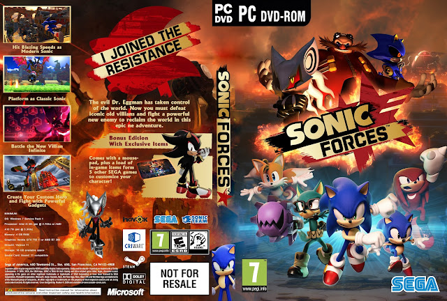 Capa Sonic Forces PC