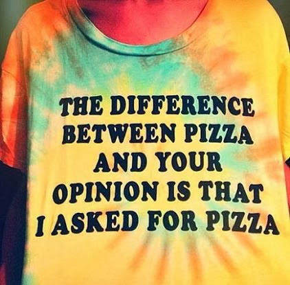quote about opinions