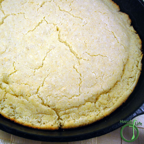 Morsels of Life - Basic Cornbread Step 9 - Bake at 425F for 15-20 minutes.