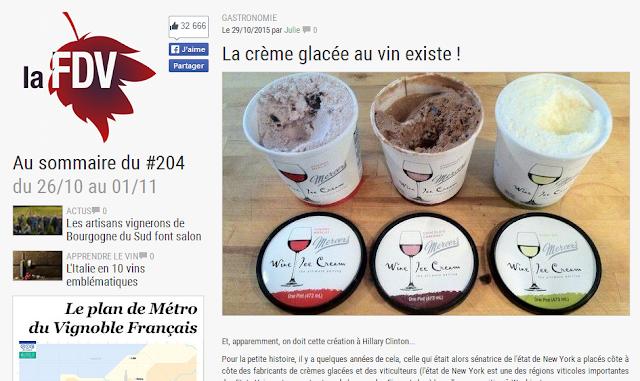 beaux-vin blog actualité vin crème glacée