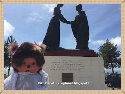 kiki monchhichi statue franco belge guerre le havre sainte adresse belgique bruxelles